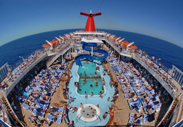 Cruise Pool View